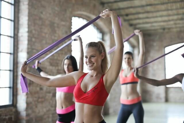 fazendo exercicios